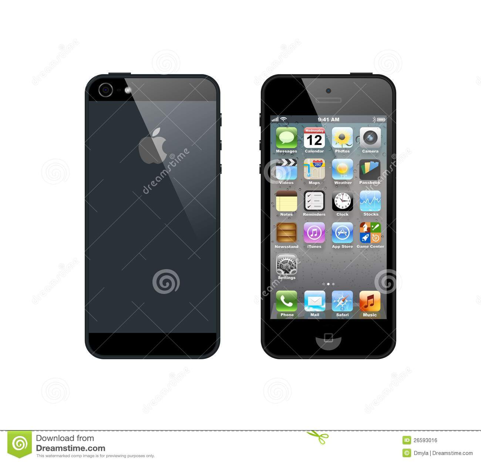 IPhone negro 5