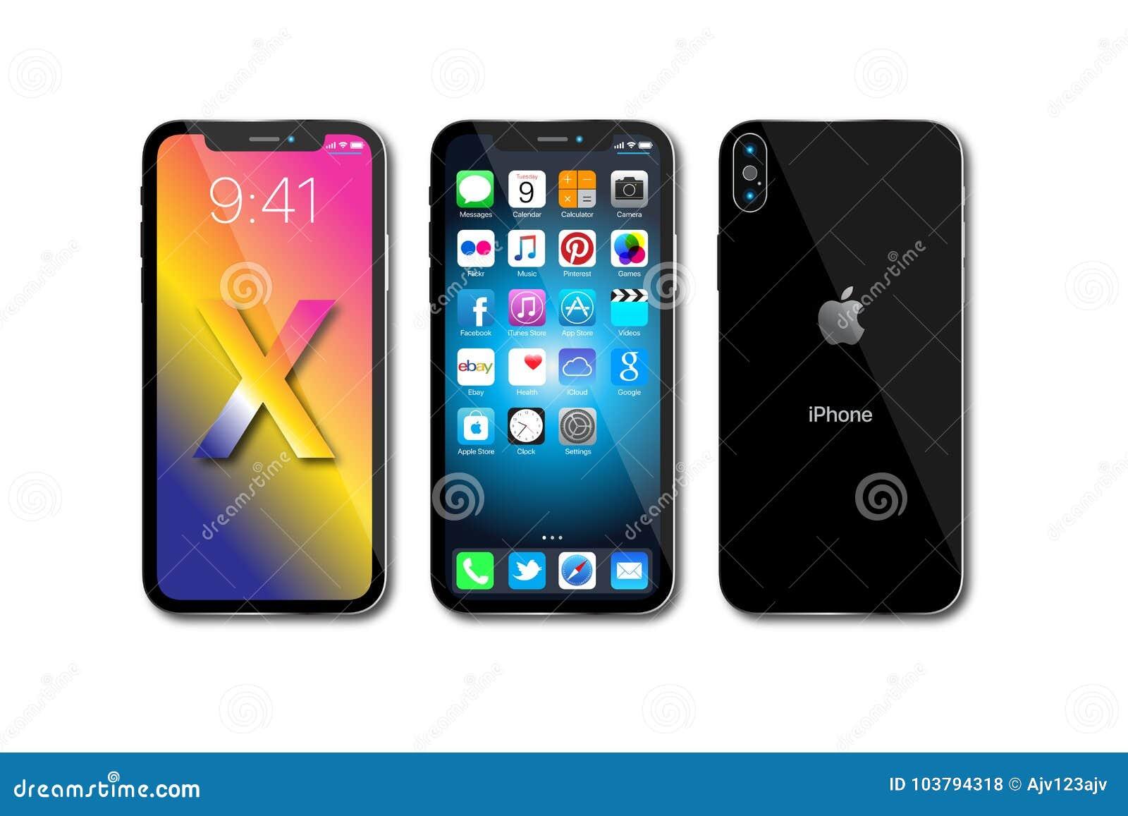 IPhone novo X 10 de Apple