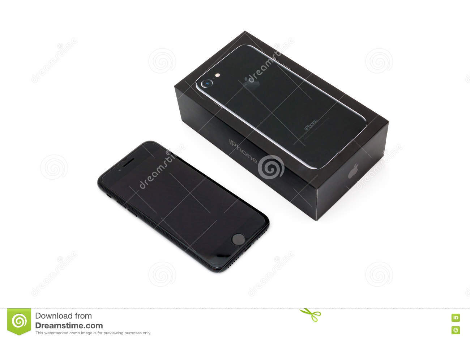 IPhone novo 7 de Apple que unboxing