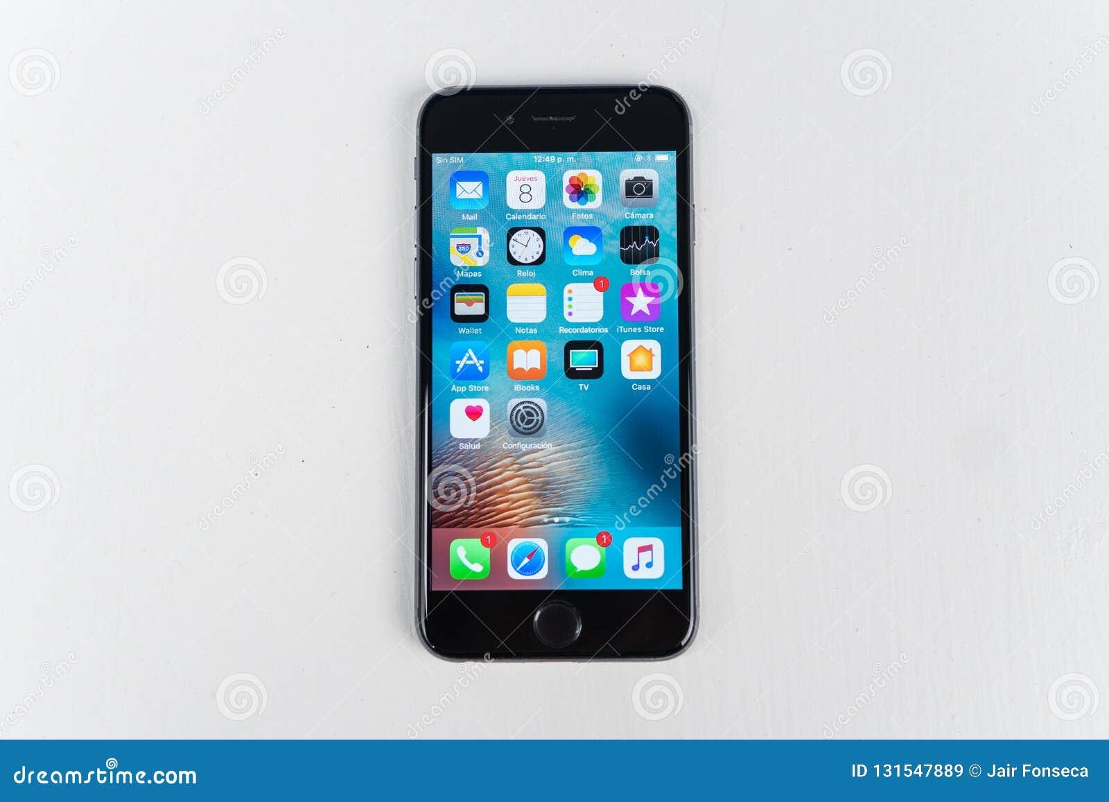 IPhone 7 plus Matt svartslut upp