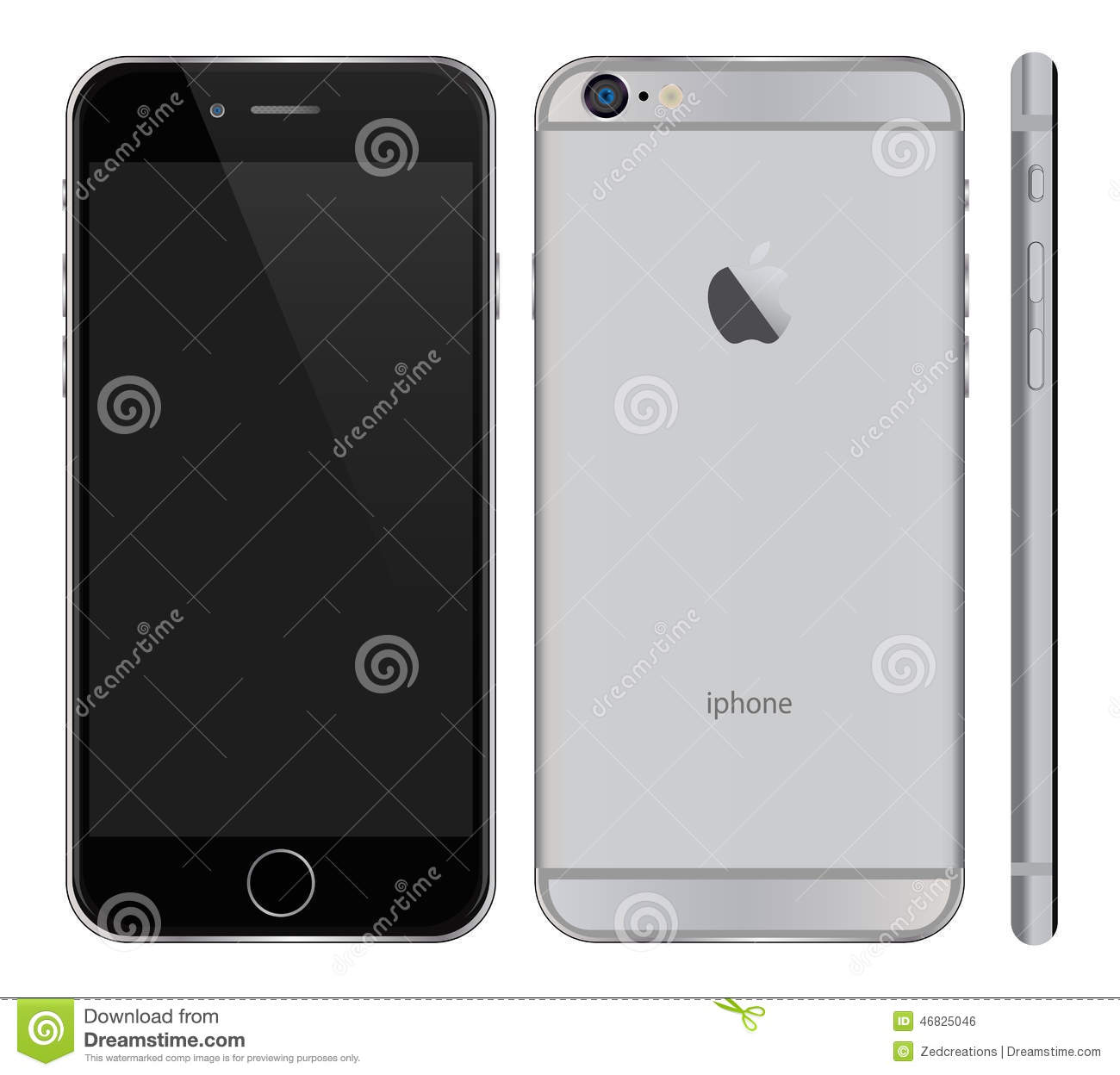 Iphone 6 Plus Editorial Photo Illustration Of Front 46825046