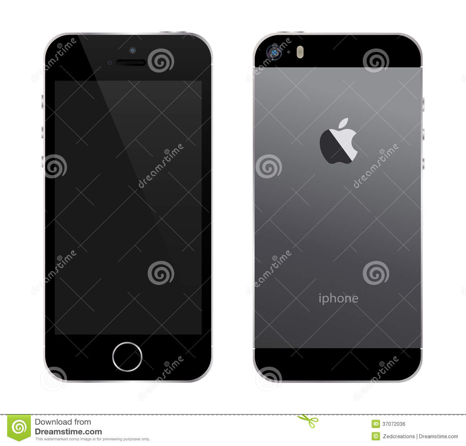 Iphone 5s黑色