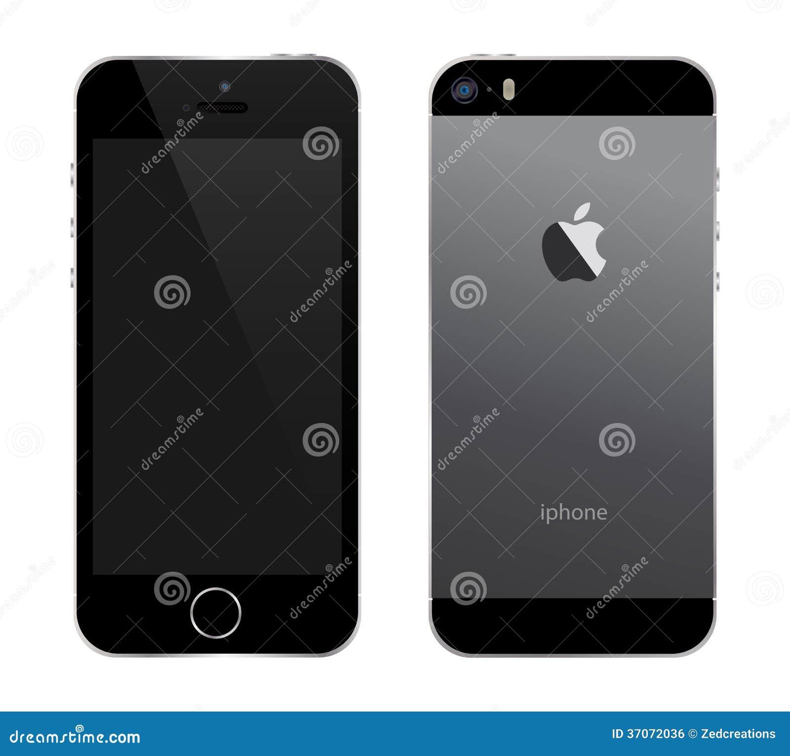 Iphone 5s czerń
