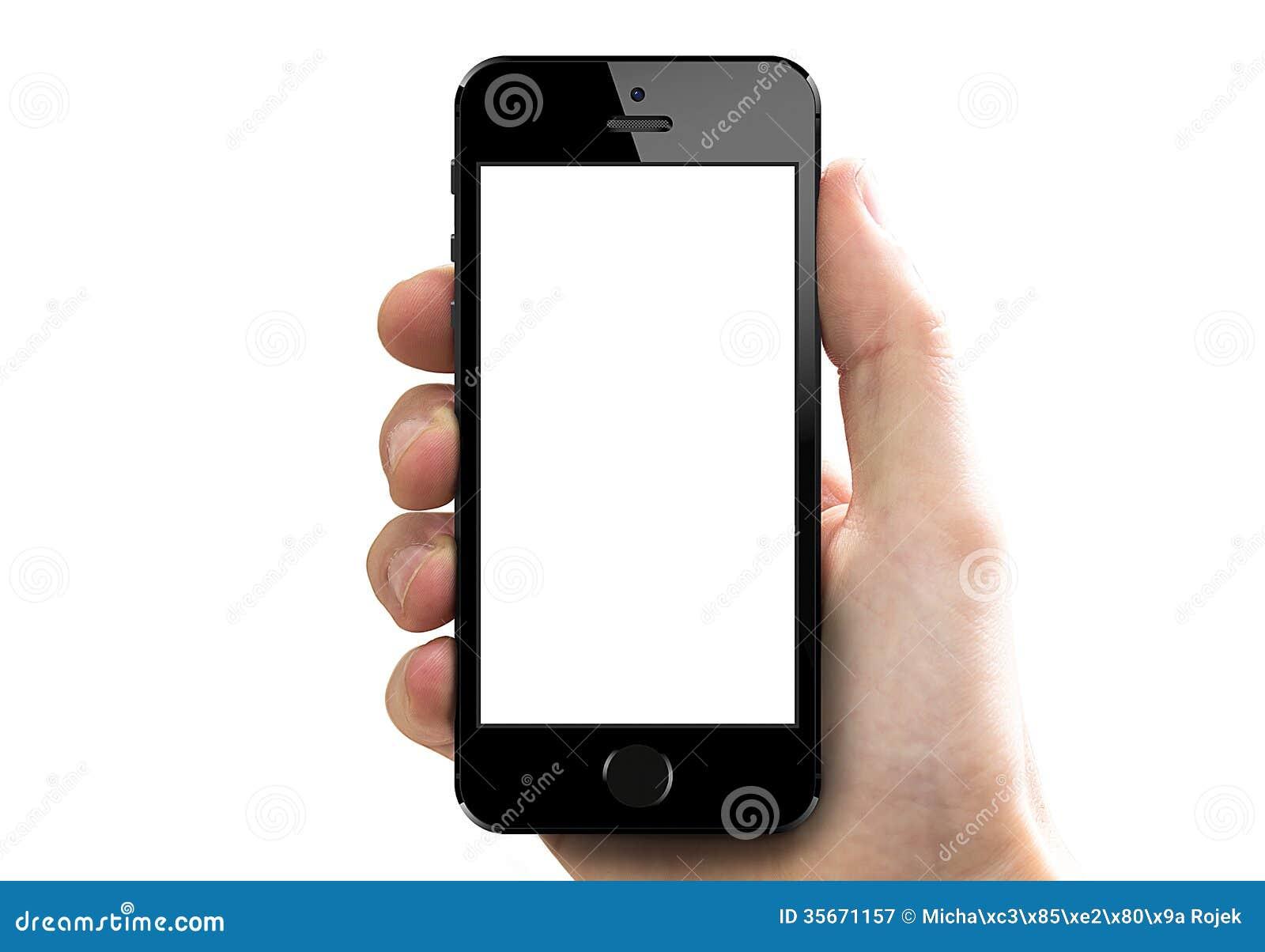 Iphone 5s i hand