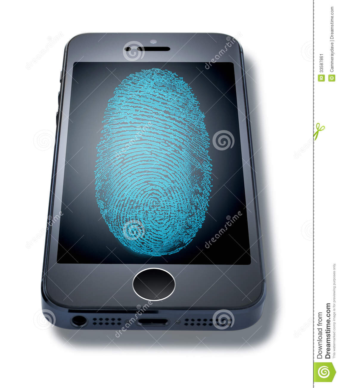 iphone 5s fingerprint iphone fingerprint cell phone editorial photo image 11196