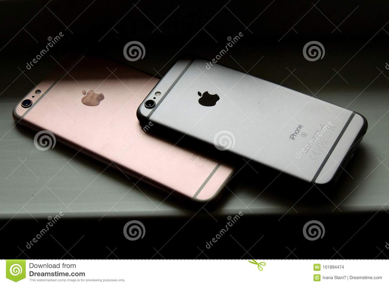 IPhone 6s editorial stock image  Image of rose, apple