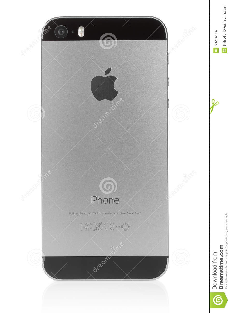 Iphone 5s space gray on white background editorial stock - Wallpaper iphone 5s space grey ...