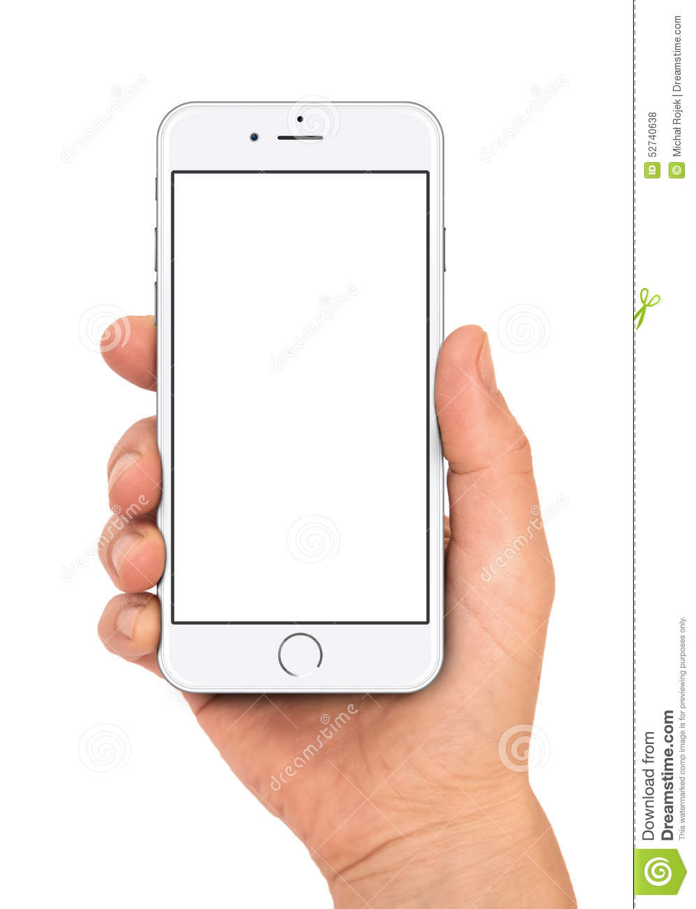 IPhone 6 in woman hand
