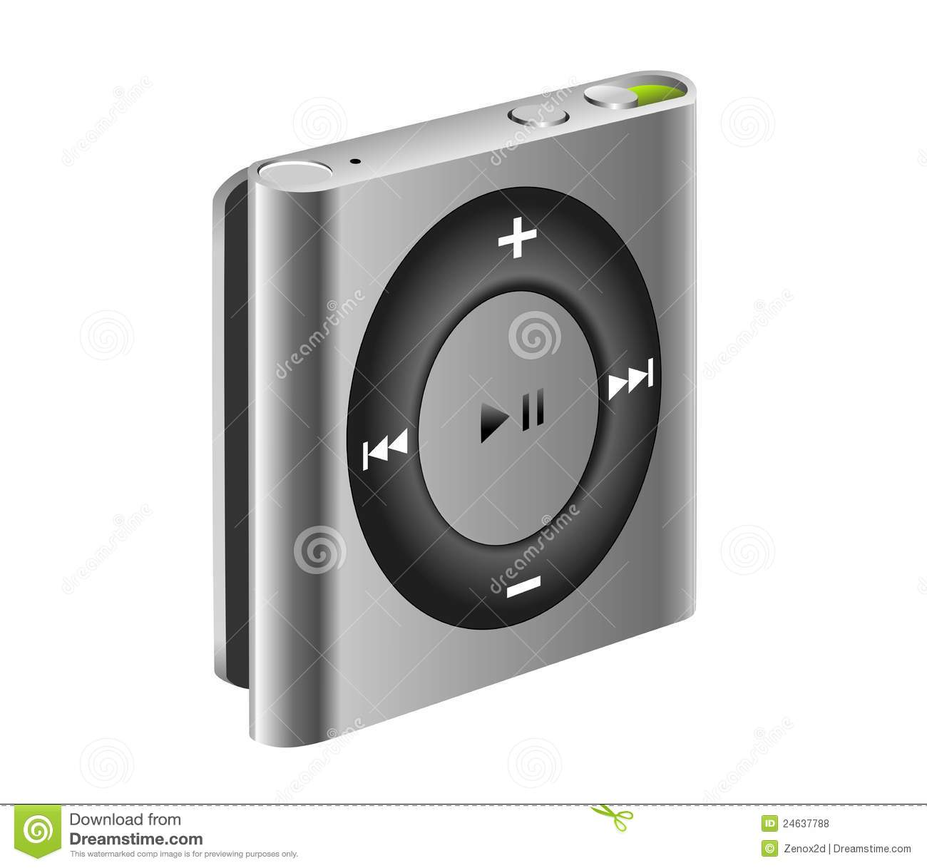 ipod shuffle mp3 player editorial stock photo image. Black Bedroom Furniture Sets. Home Design Ideas