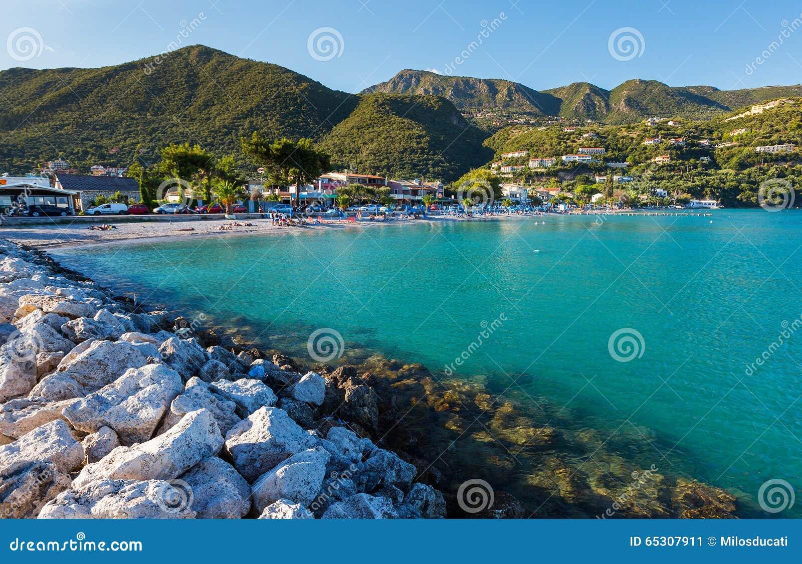 пляж ипсос корфу фото