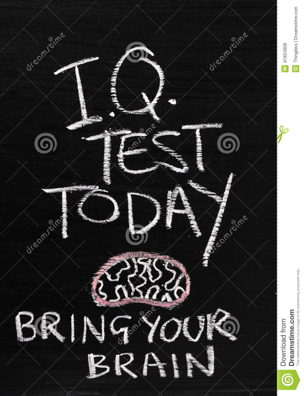 Bring Your Pens To Battle Critical Role Fan Art Gallery: IQ Test Today Stock Photo