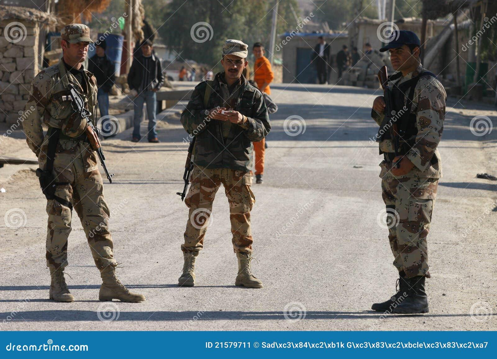Irakijscy żołnierze