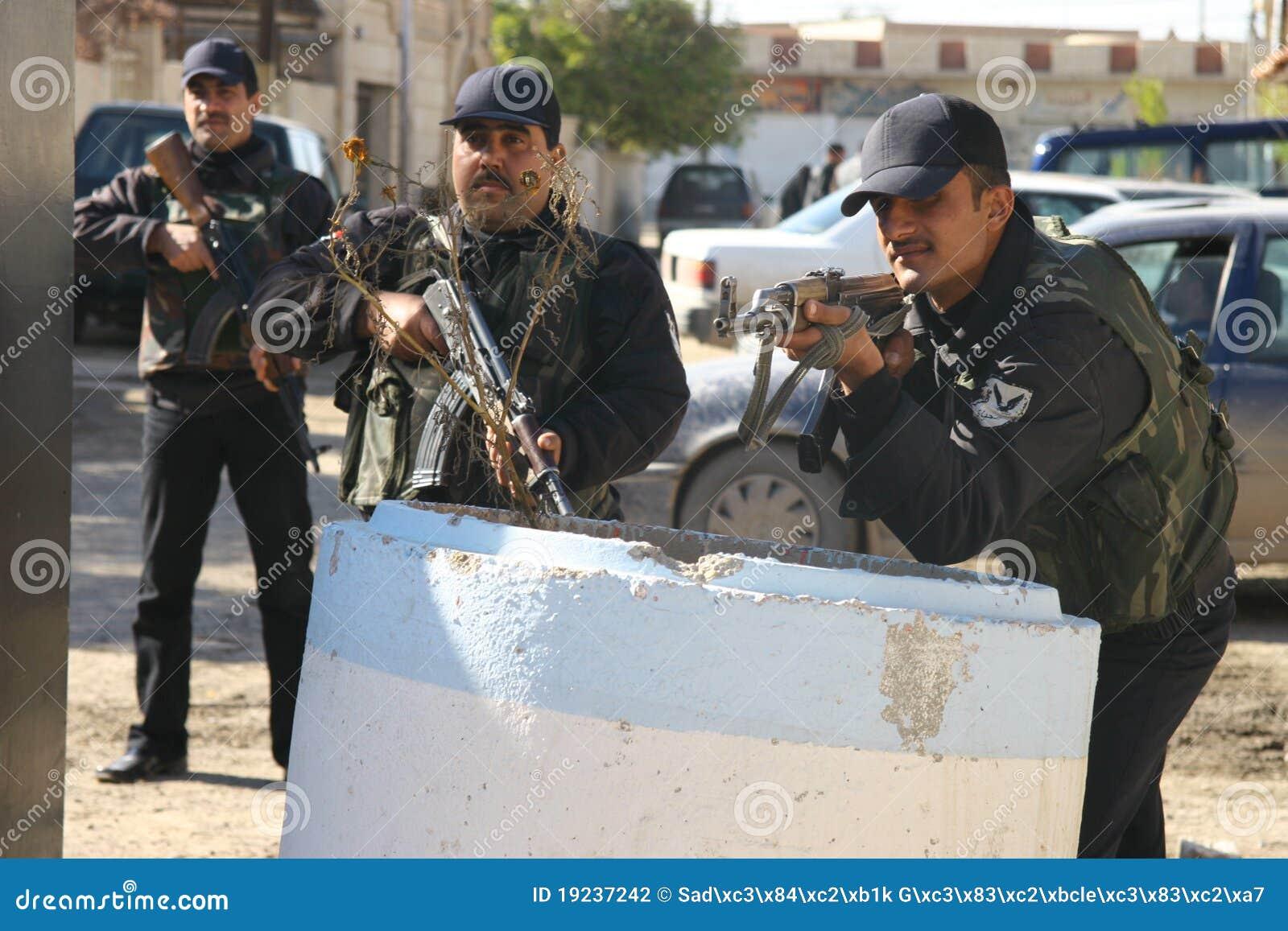 Irakiska kirkuk polisar