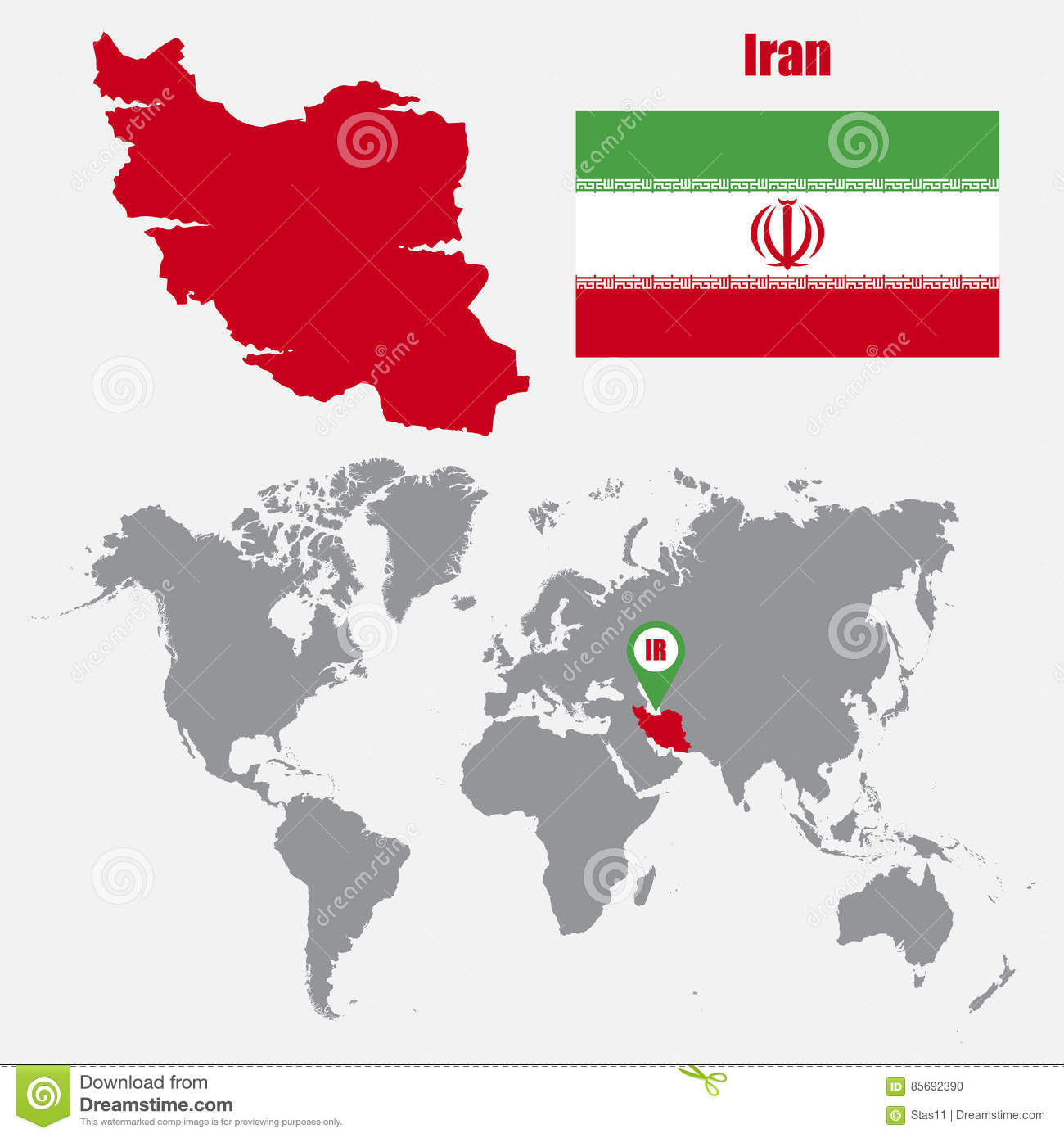 Iran map on a world map with flag and map pointer vector download comp gumiabroncs Images