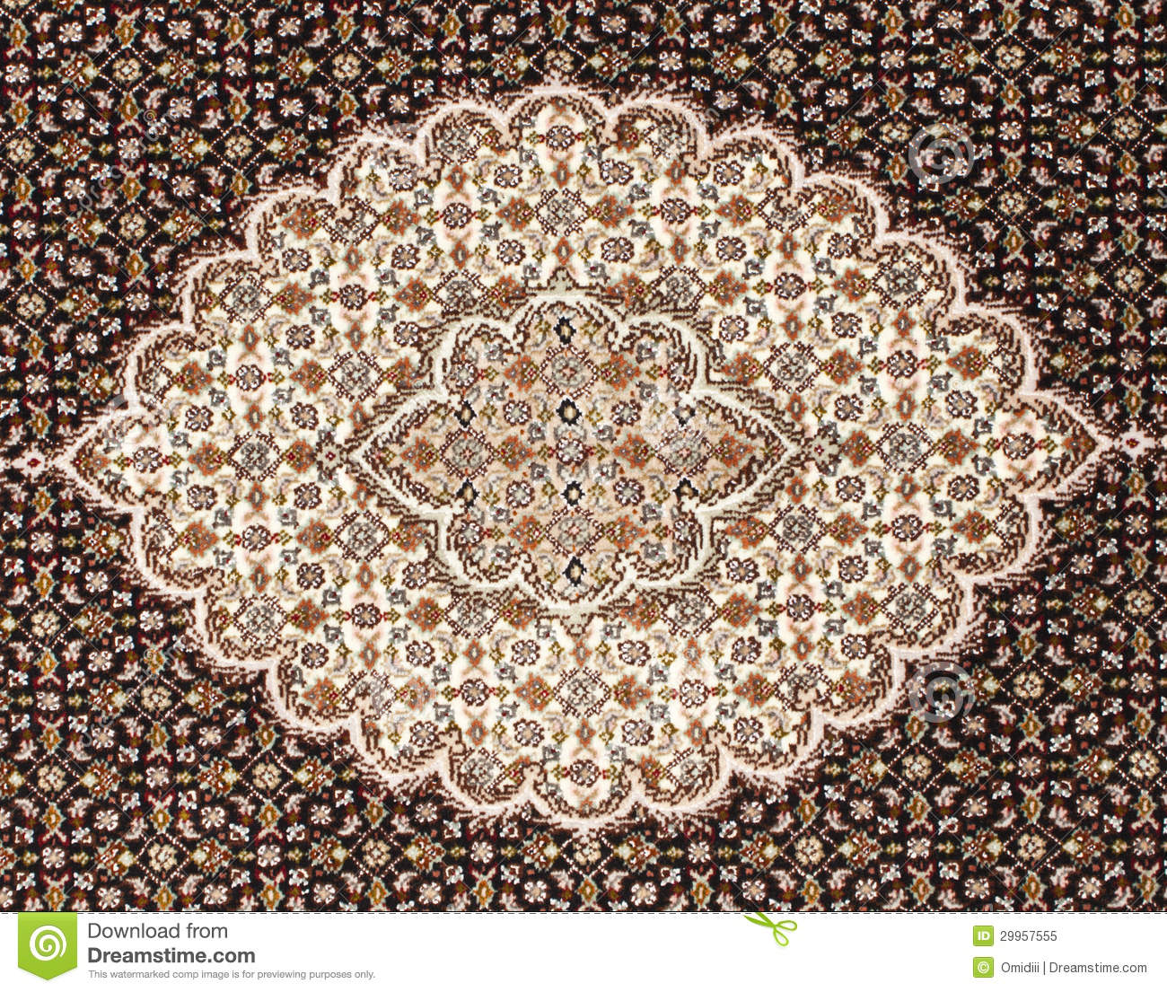 Persian Carpet Royalty Free Stock Photo - Image: 29957555
