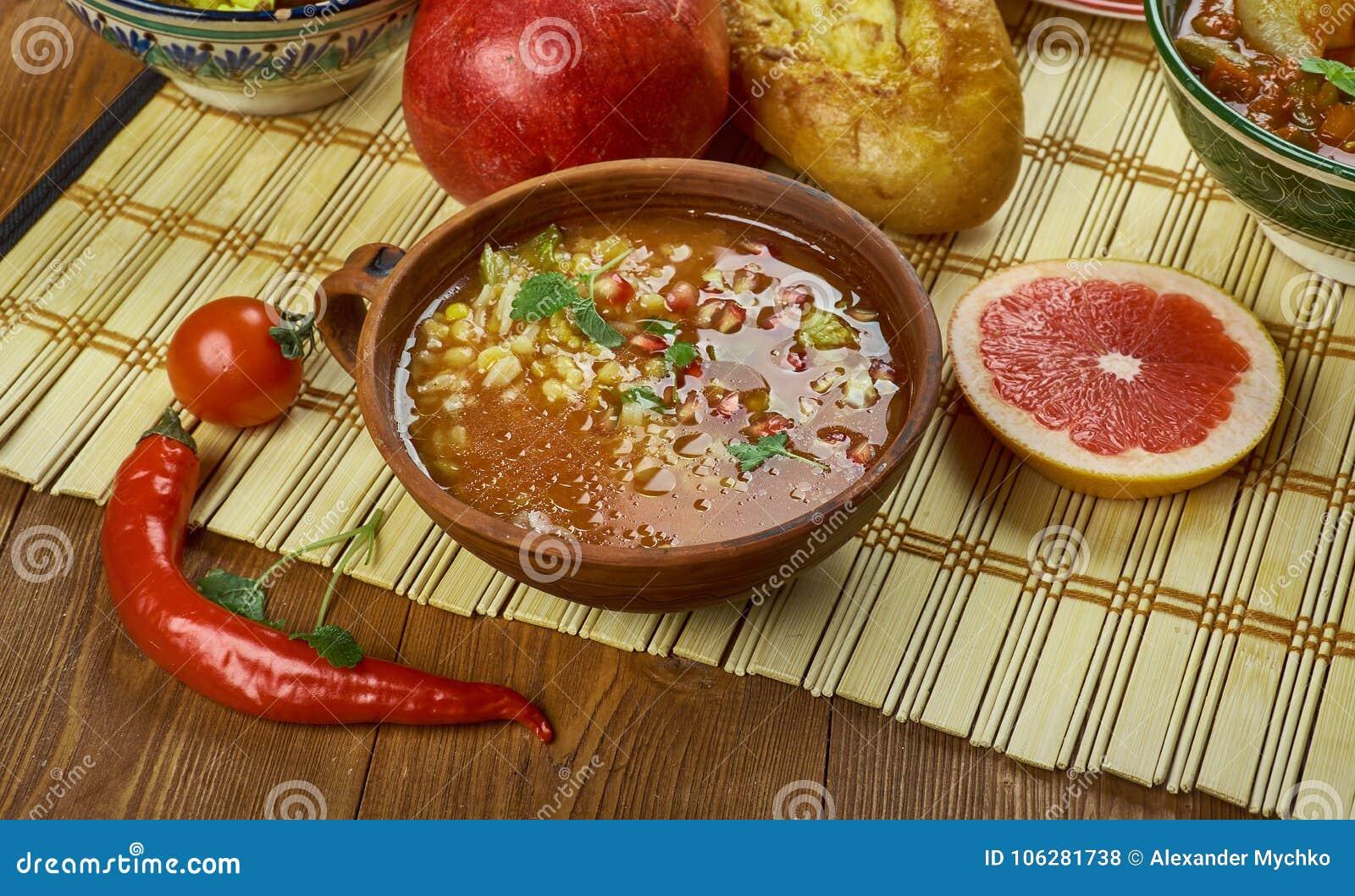 Iranian Pomegranate Soup stock photo. Image of pomegranate ... Persian Pomegranate Soup
