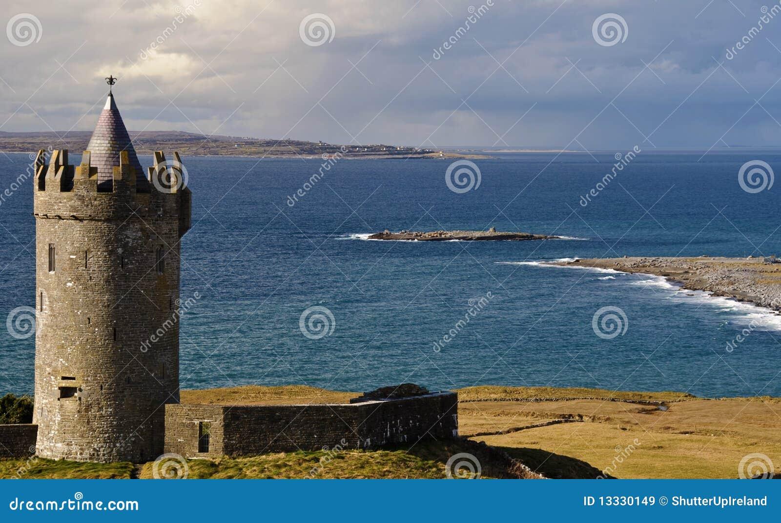 Ireland antyczny grodowy zachód irlandzki stary