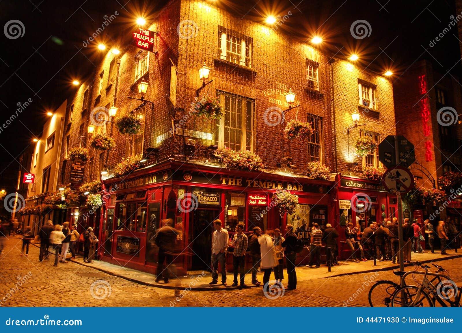 Ireland. Dublin. Temple Bar