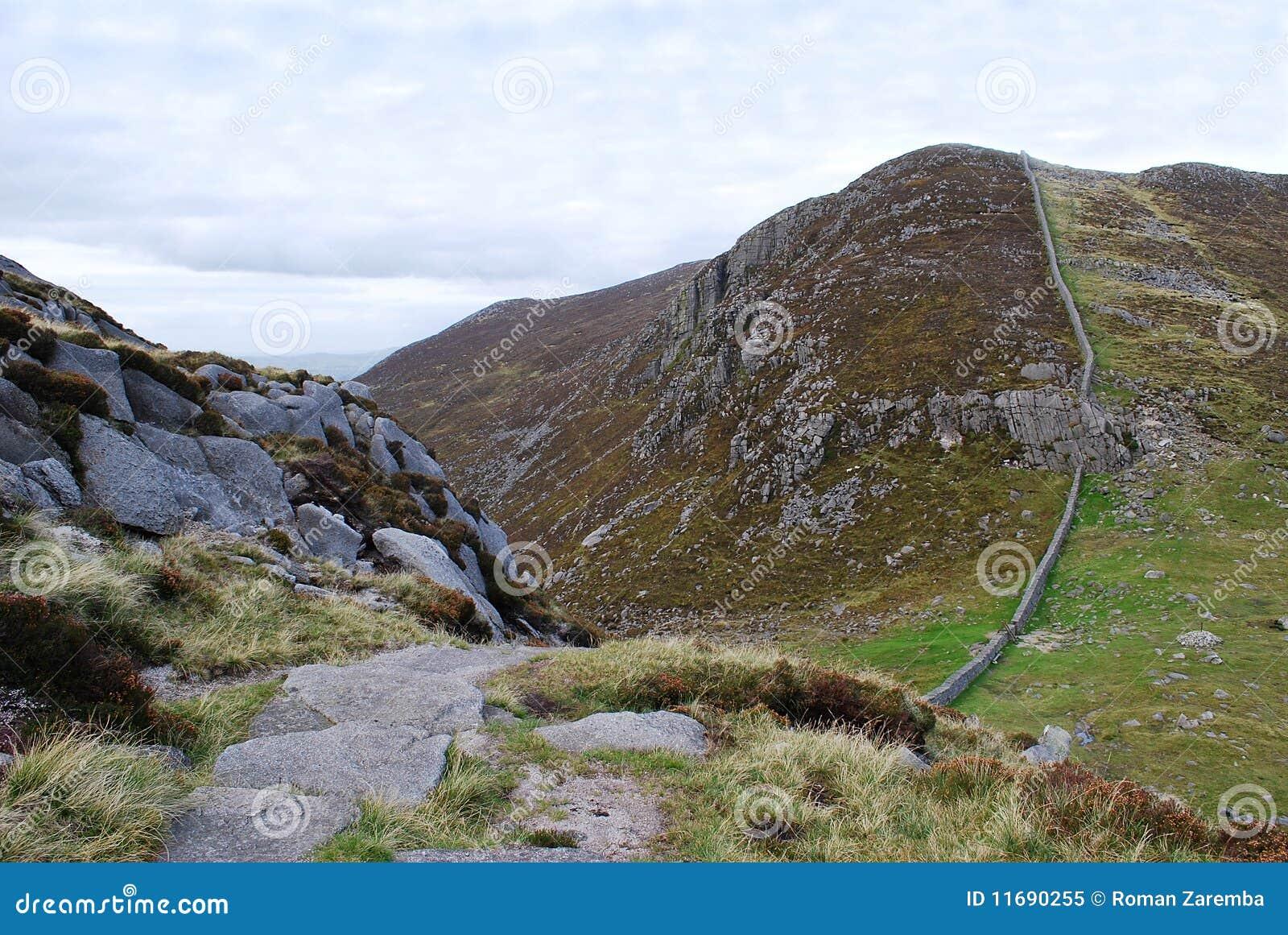 Ireland gór mourne północny