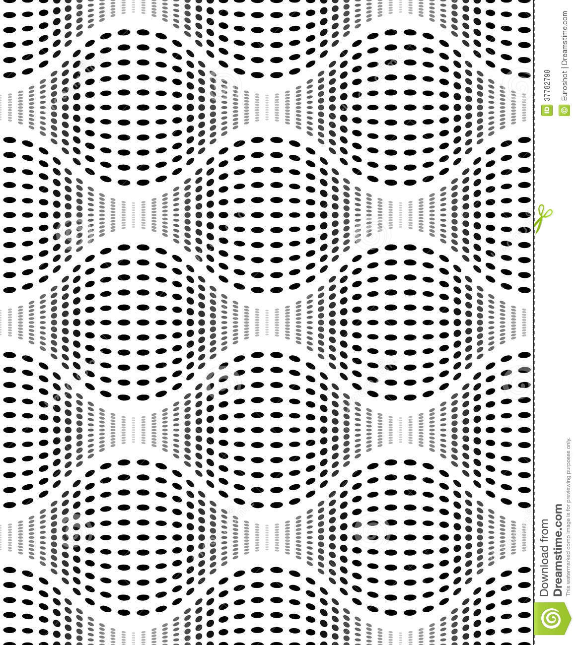 Iridescent Texture With Dots Vector Seamless Pattern