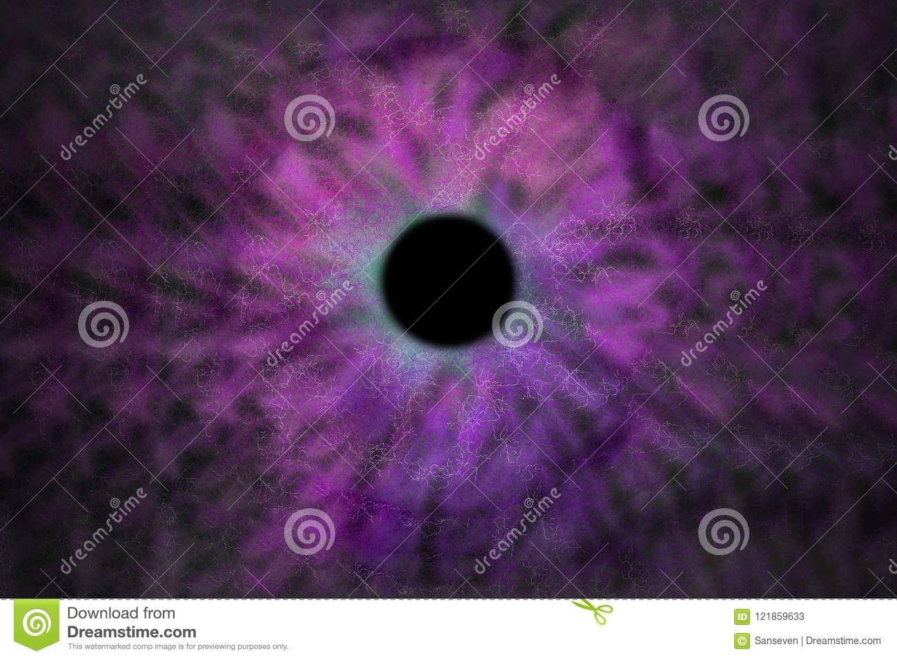Iris Background - Galaxy Cosmos Style, Universe Astronomic Wallpaper with purple violet stardust