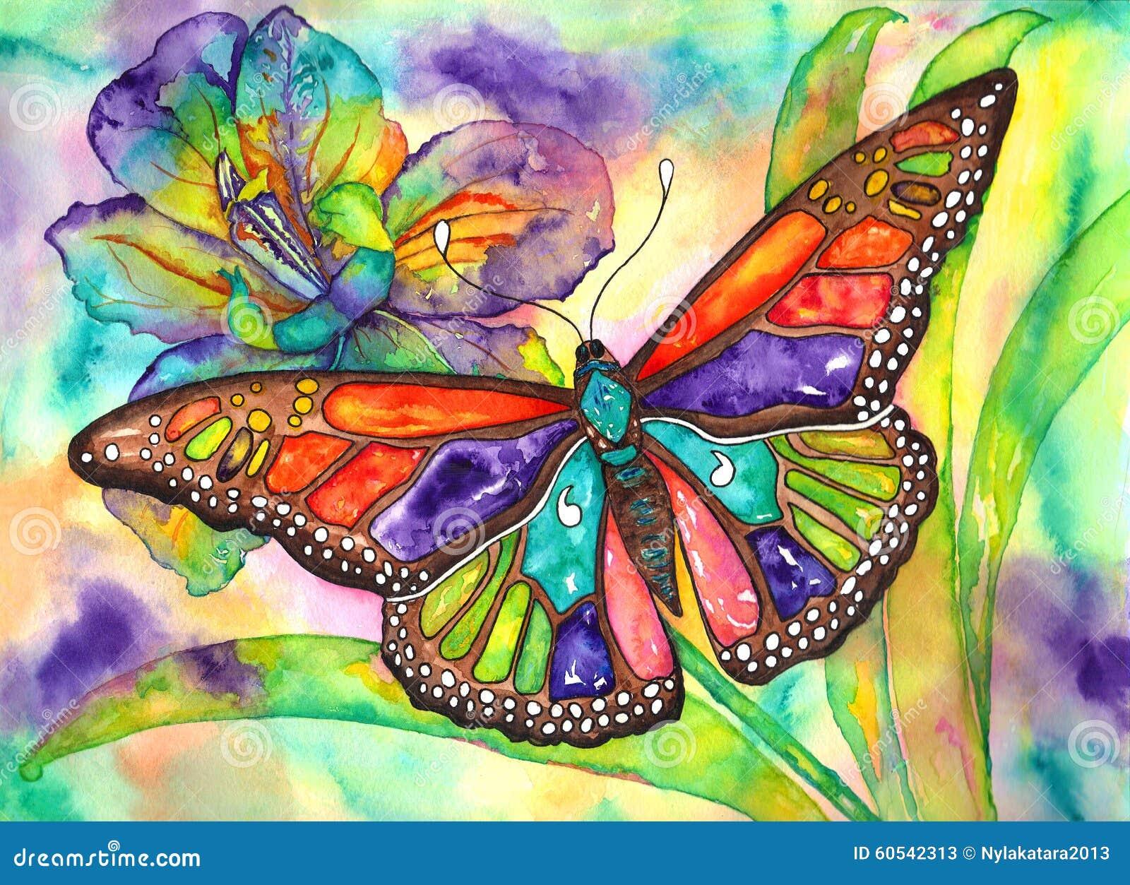 Iris de papillon