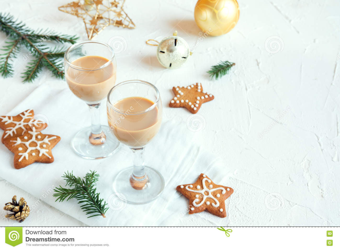 Irish cream coffee liqueur stock photo. Image of fresh - 81829122
