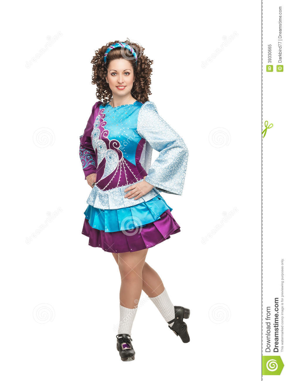 Irish Dancer In Hard Shoes Stock Photo Image 39330665