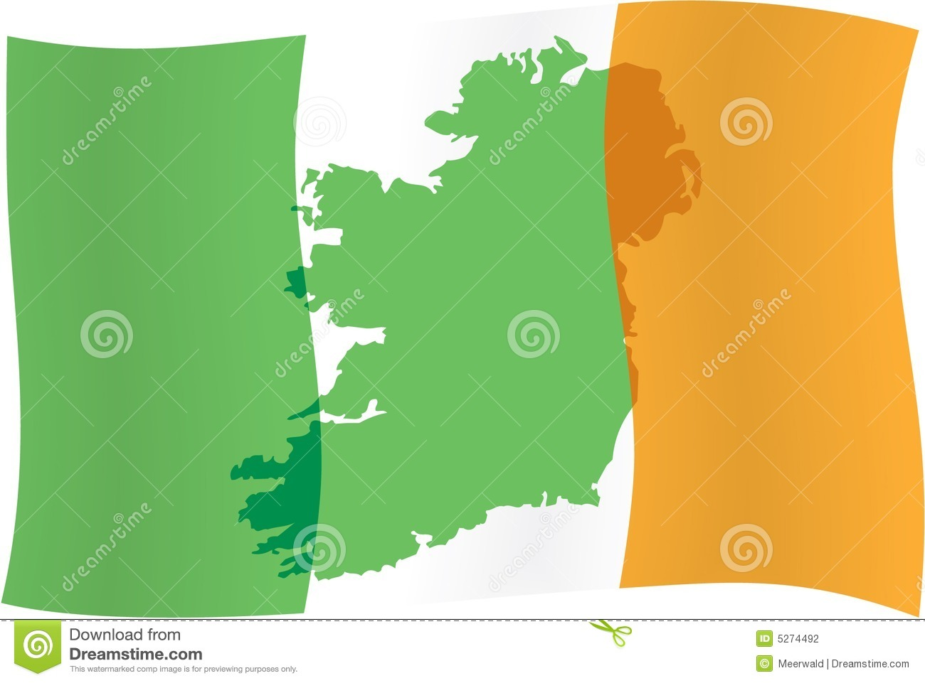 ireland map u0026 counties royalty free stock images image 5032119