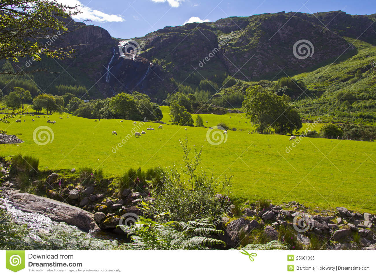 Irish landscape royalty free stock image image 25681036 - Free garden plans ireland ...