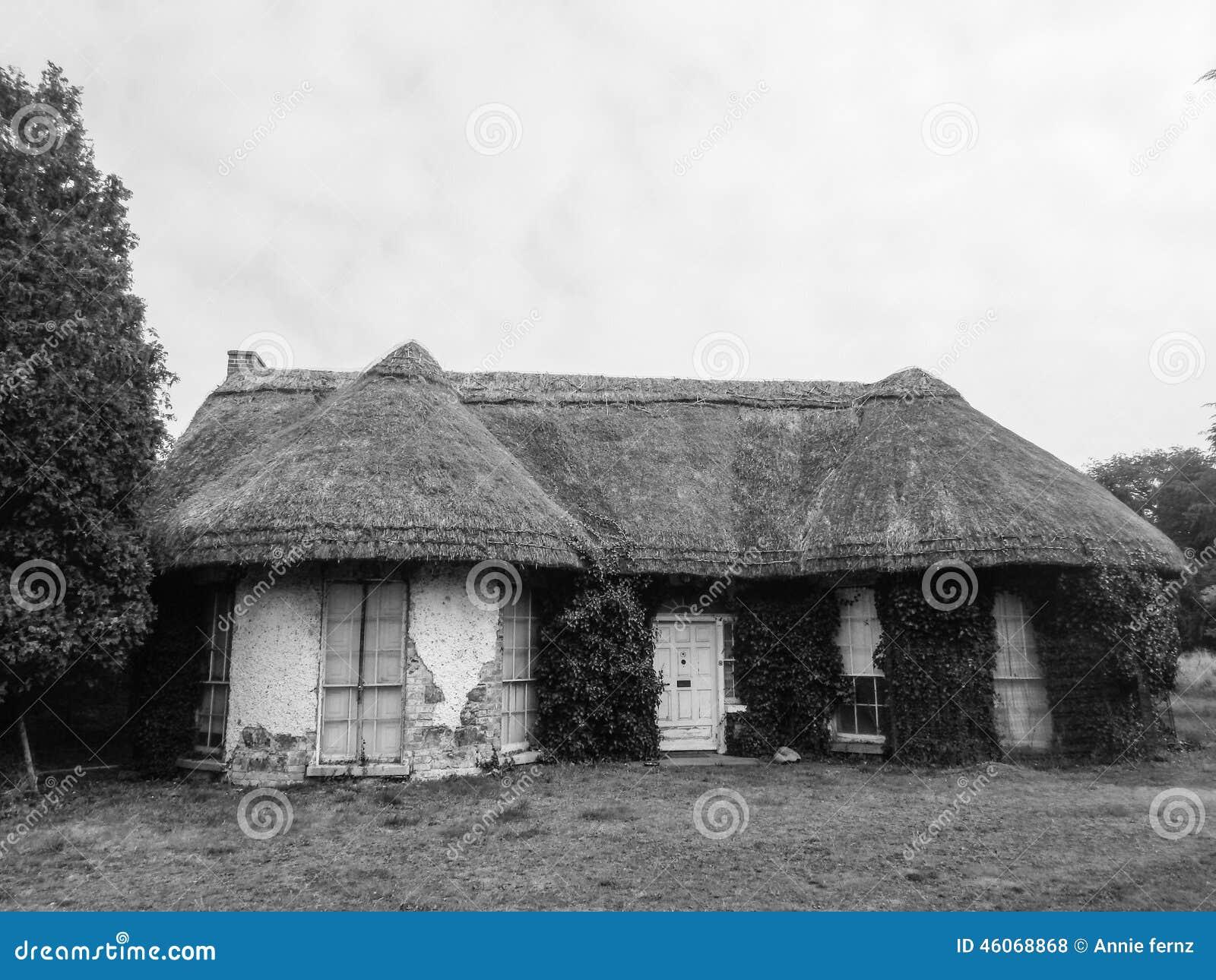 Irish Old Cottage House Stock Photo Image Of Nature