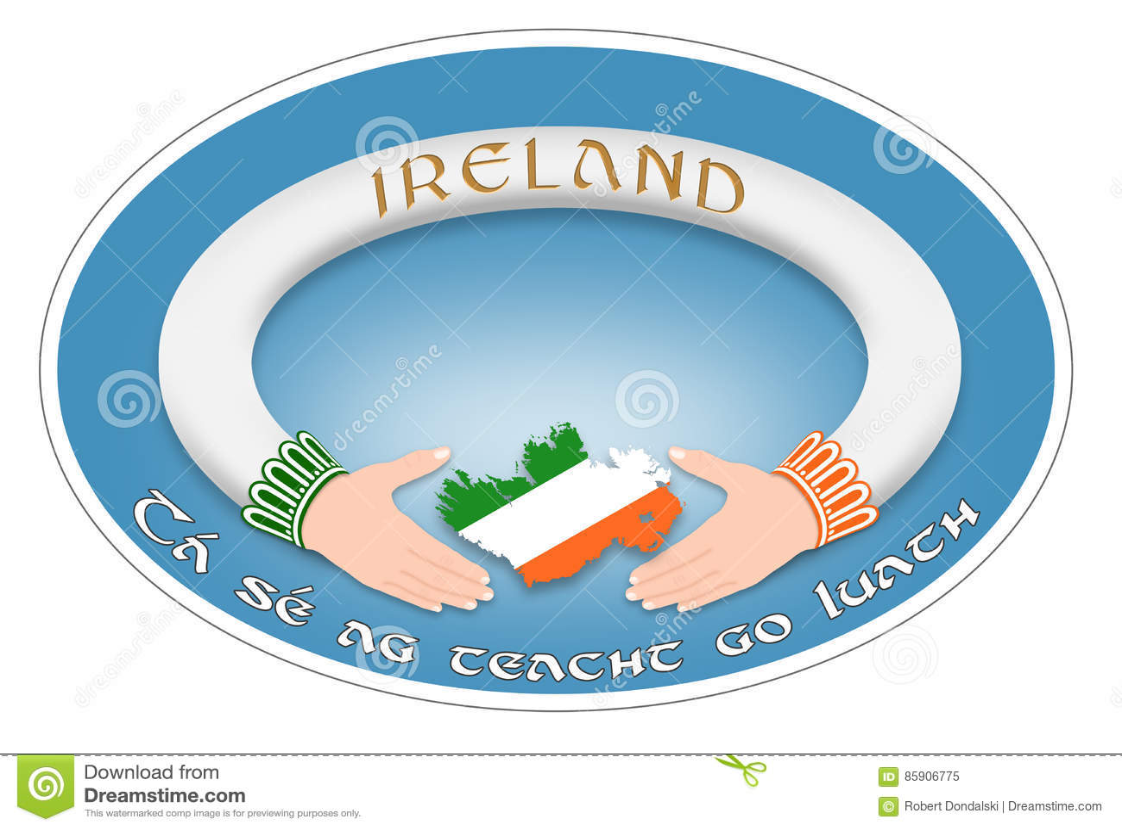 Irish ring stock illustration illustration of ring traditional irish ring buycottarizona Choice Image