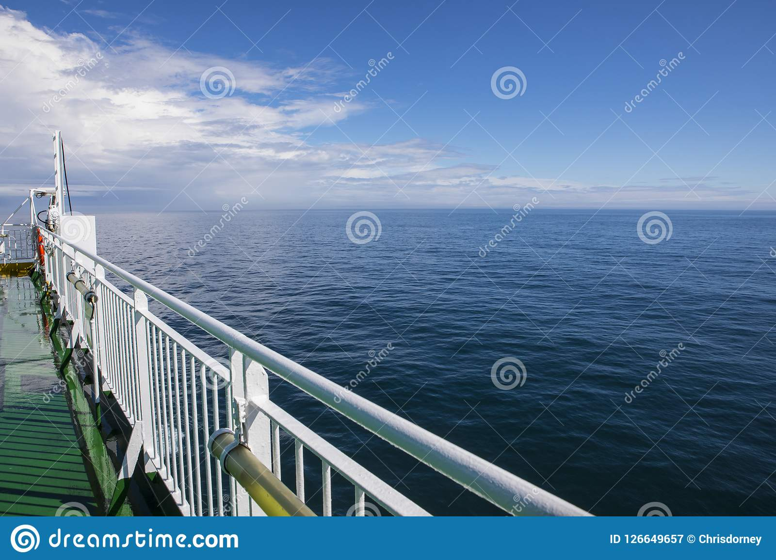 Ferry To Ireland From Holyhead >> Ferry On The Irish Sea Editorial Photography Image Of Outdoors