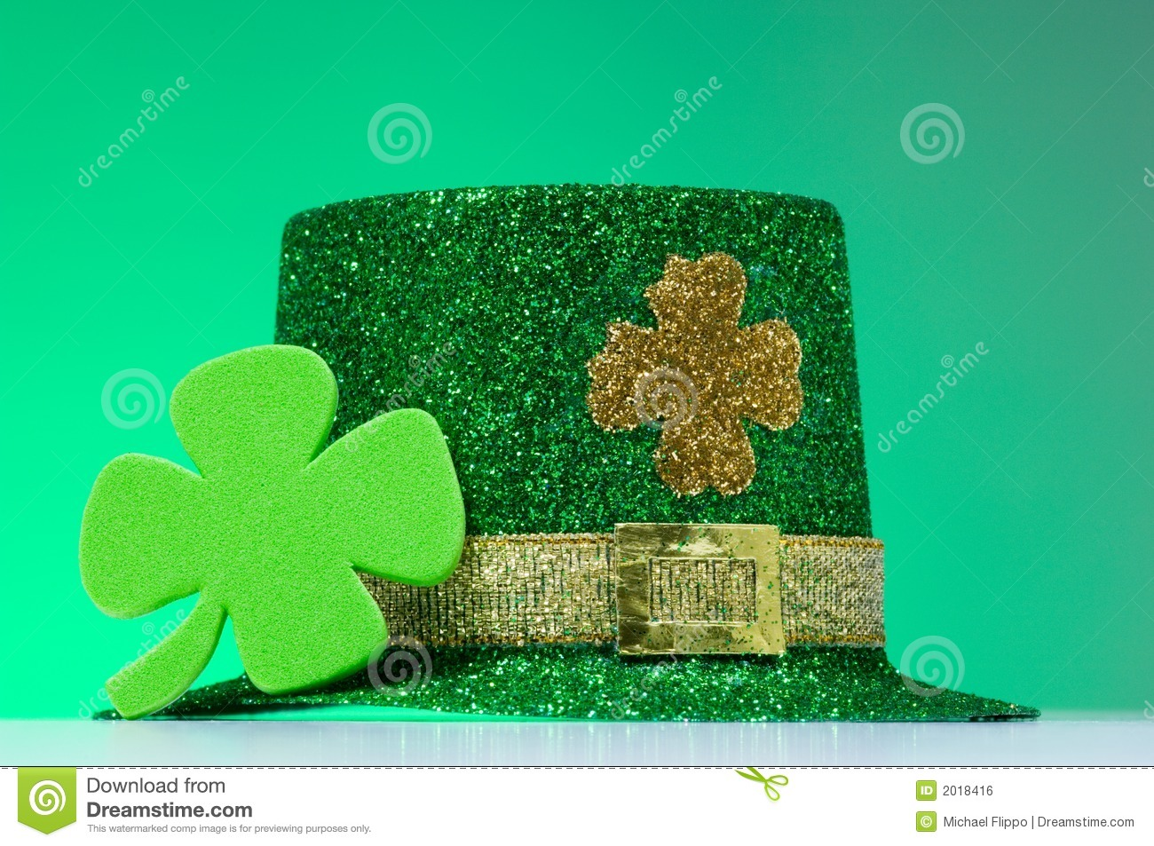 Irish st patrick 39 s day decorations royalty free stock for Decoration saint patrick