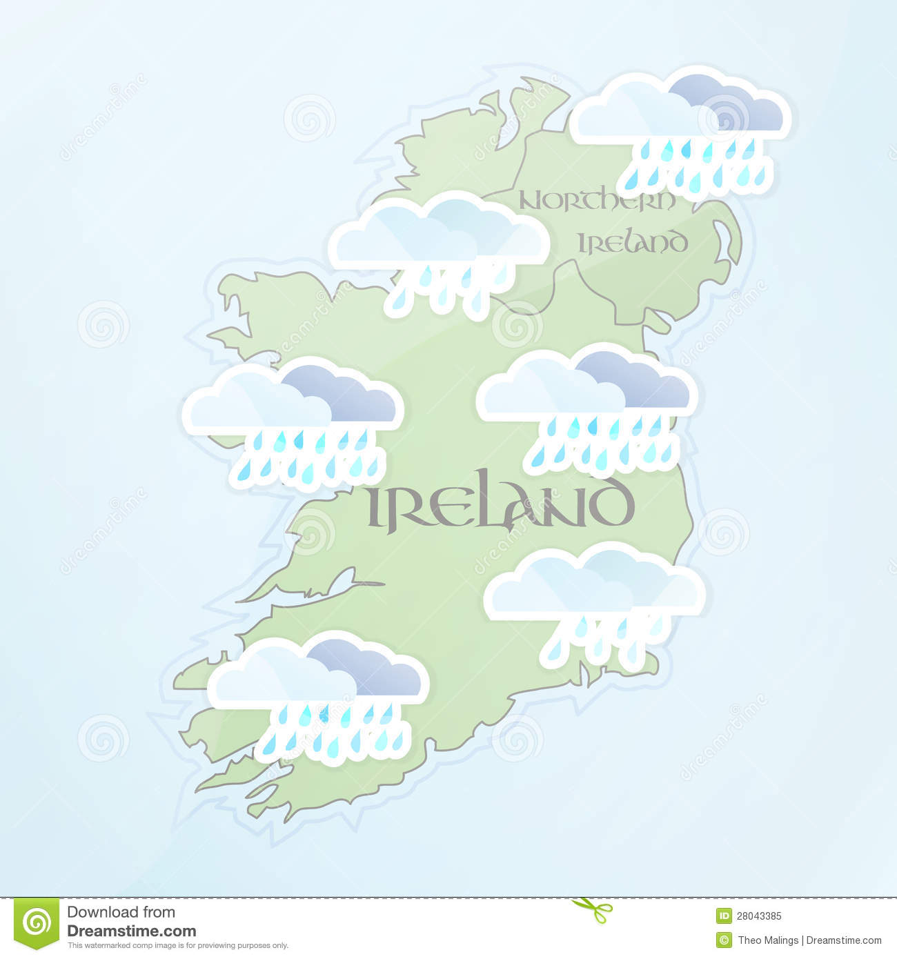 The irish weather forecast for july rain rain and more rain