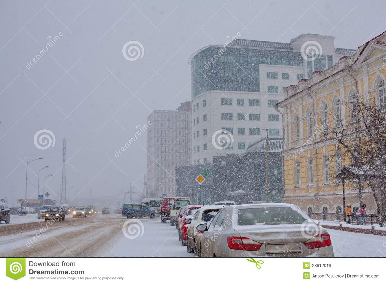 Irkoutsk l 39 hiver architecture photo stock image 28912016 for Architecture de plan libre