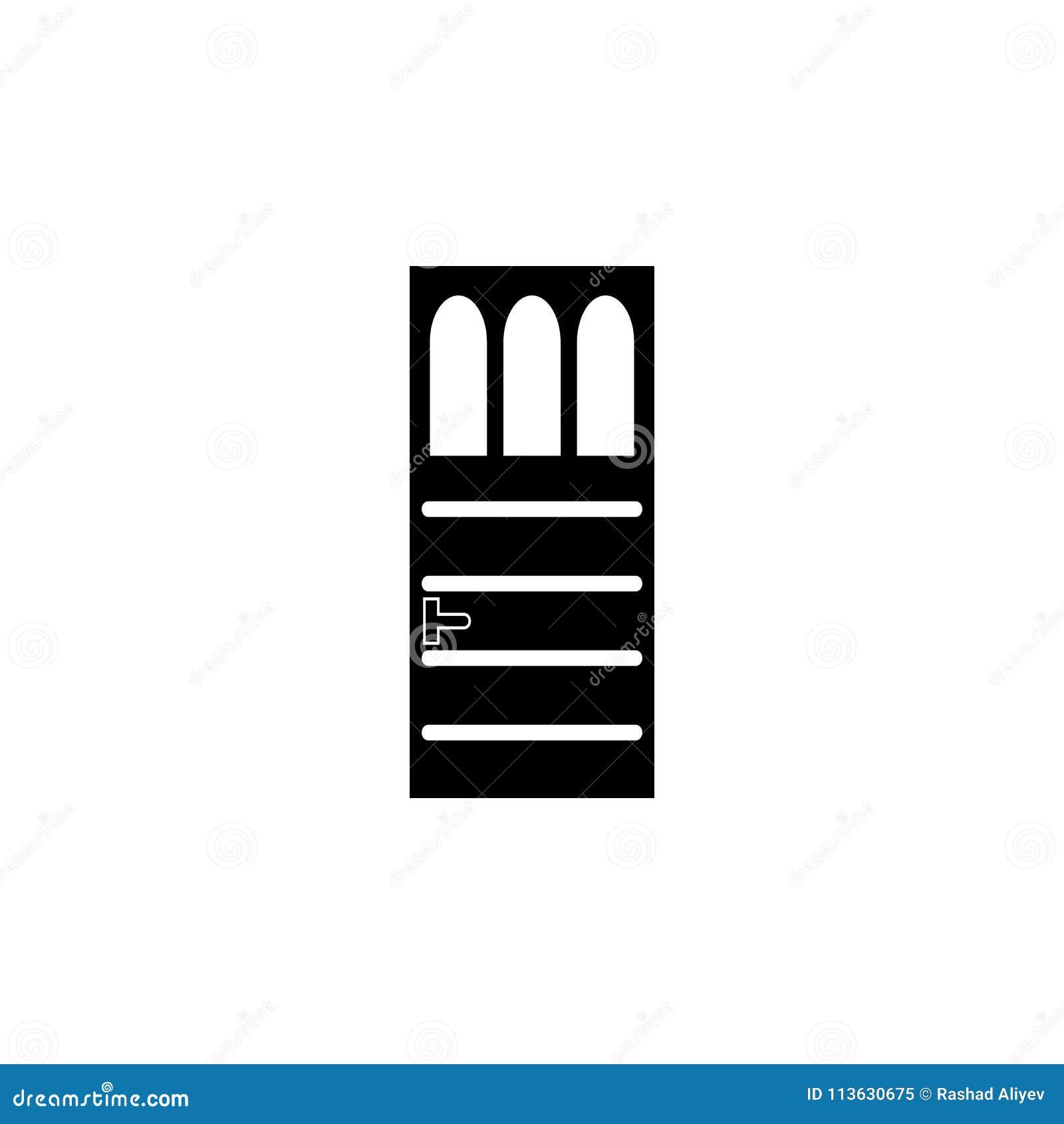 Iron Door Icon Element Of Door Elements Illustration Premium