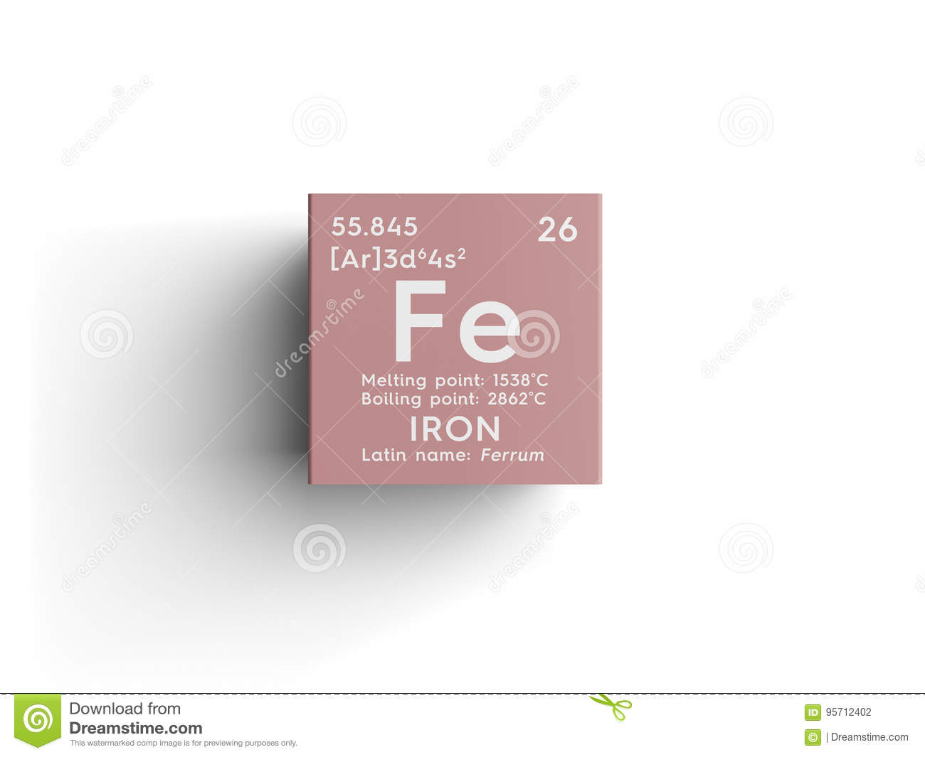 Iron ferrum transition metals chemical element of mendeleevs chemical element of mendeleevs periodic table gamestrikefo Image collections