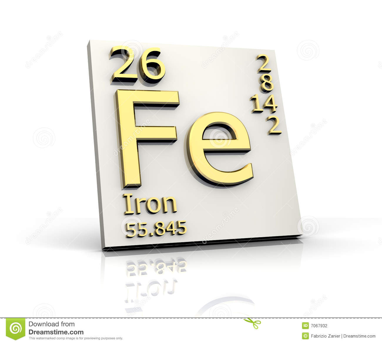 Iron form periodic table of elements stock illustration image royalty free stock photo download iron form periodic table gamestrikefo Gallery