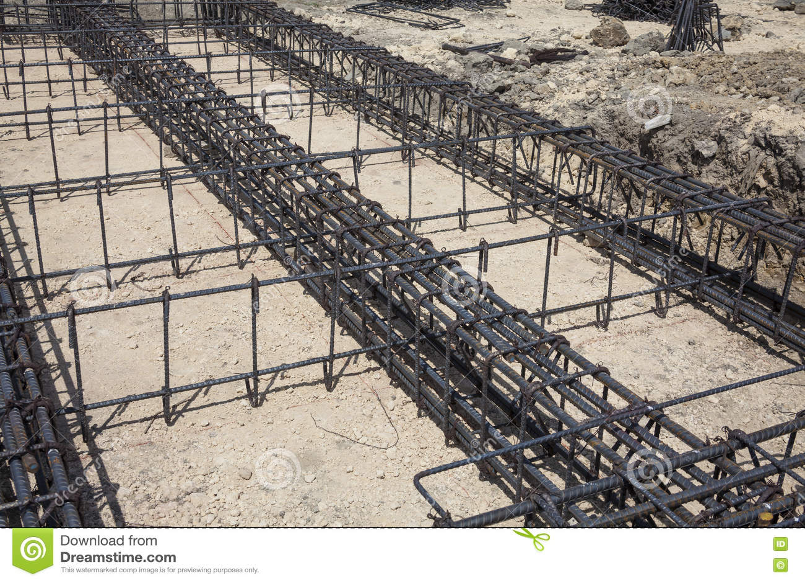 Iron framework stock photo. Image of framing, contractor - 70919698