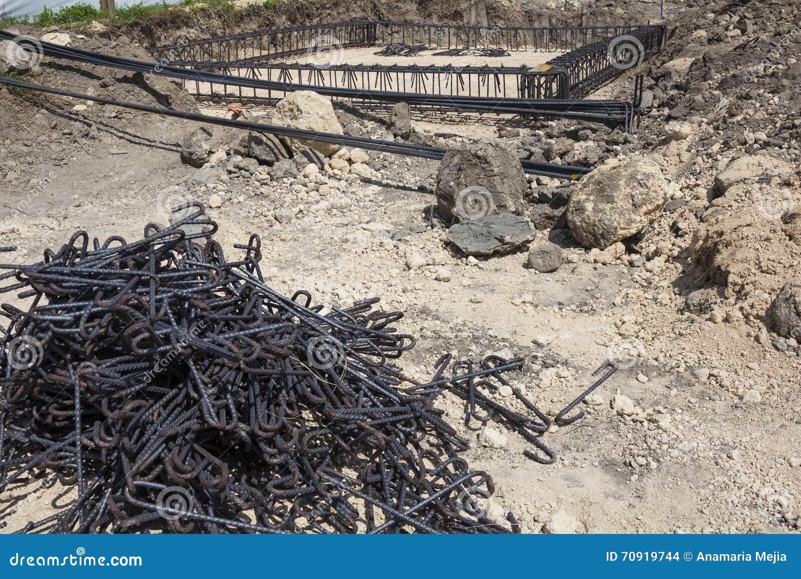 Iron framework stock photo. Image of steel, framing, foundations ...