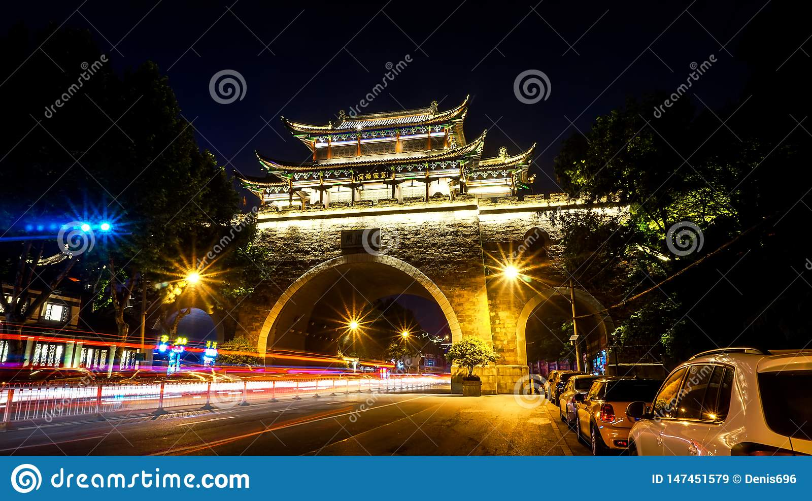 The Iron Gate arch in Wuhan