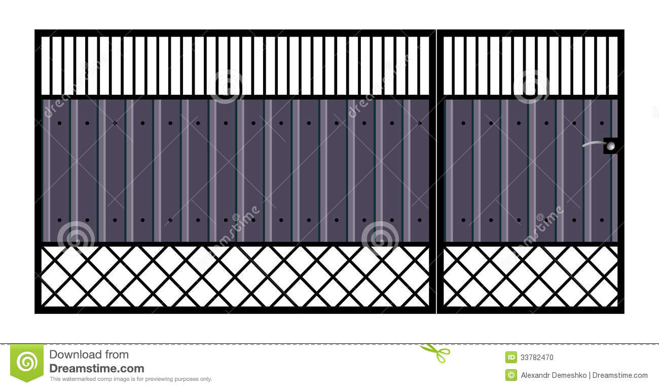Iron Gate Wall Decor