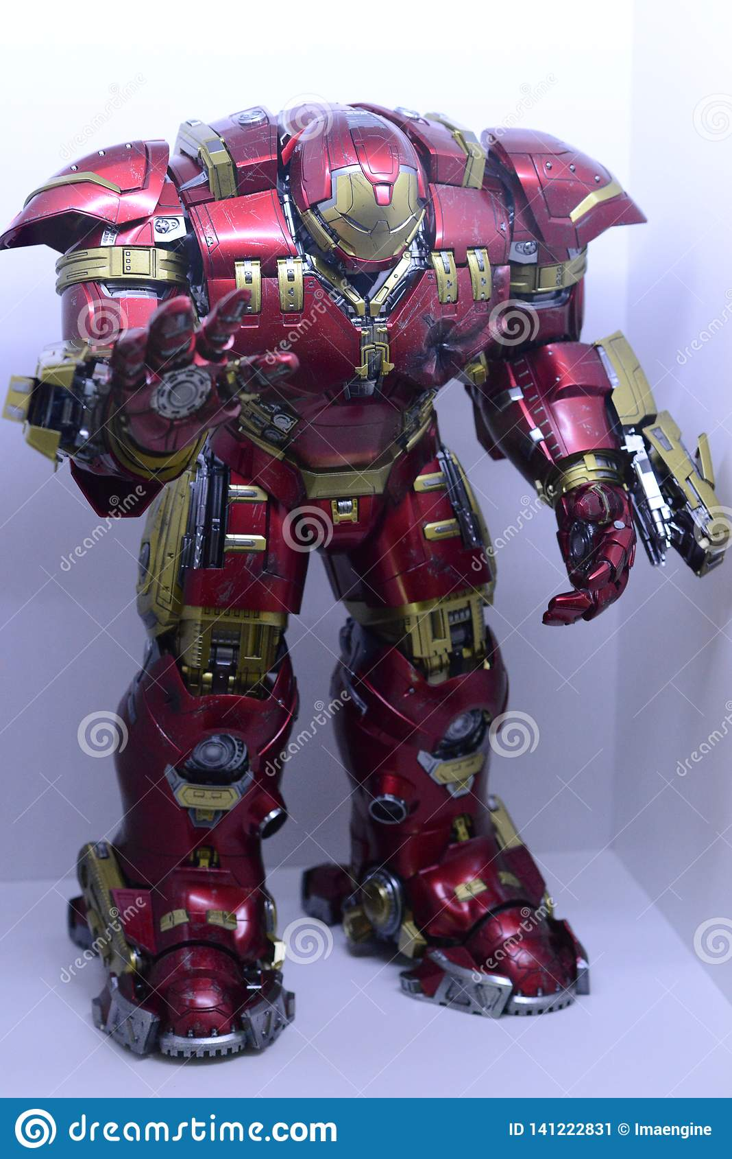 Iron Man Hulk Buster, Marvel Characters Universe Editorial Photo