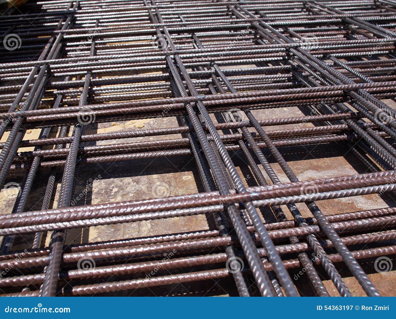 Construction materials steel