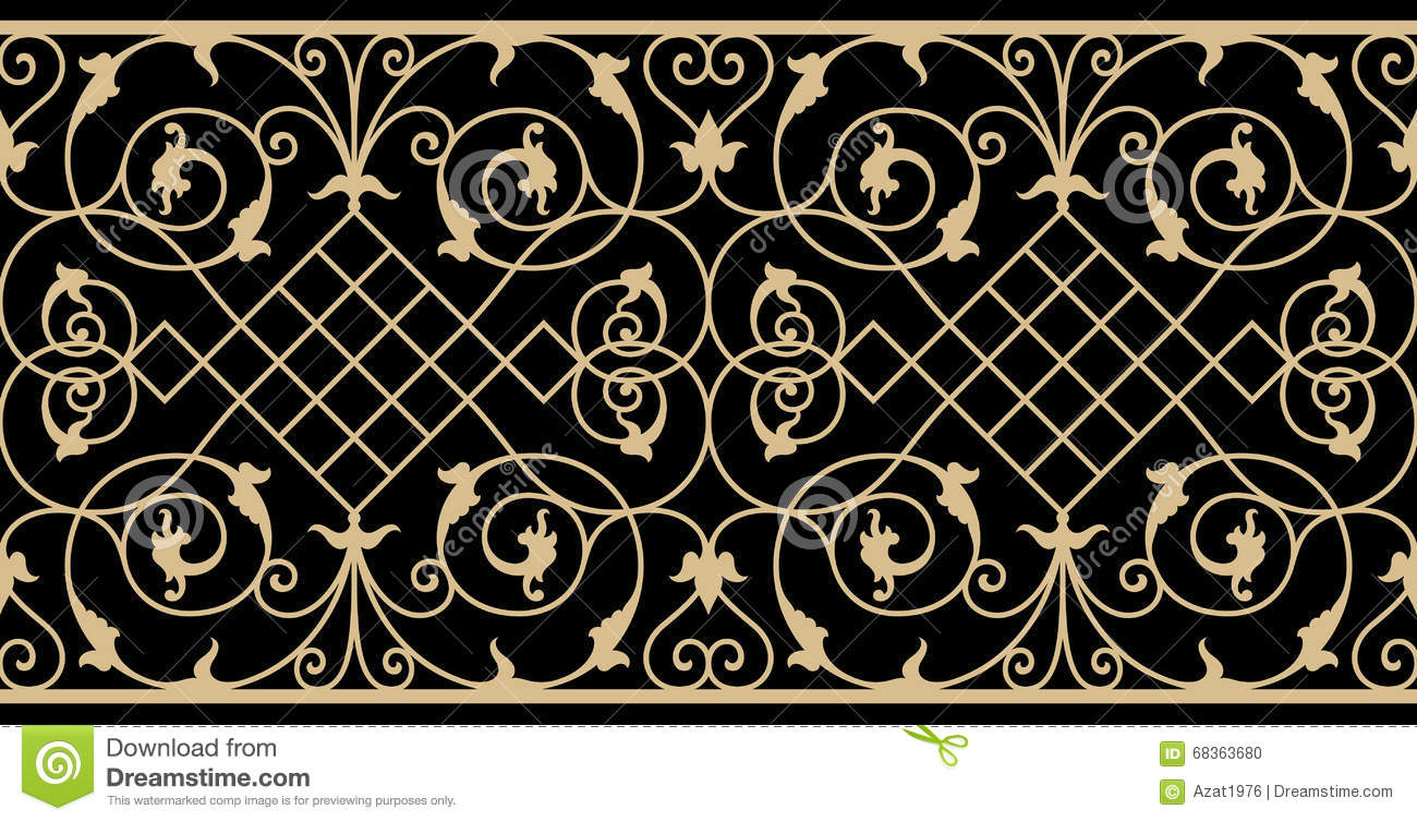 wrought iron fence victorian. Iron Wrought Victorian Border Fence