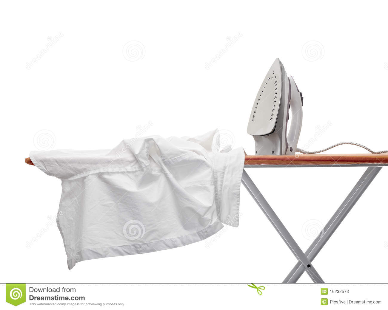 Ironing Clothes Stock Photos - Image: 16232573