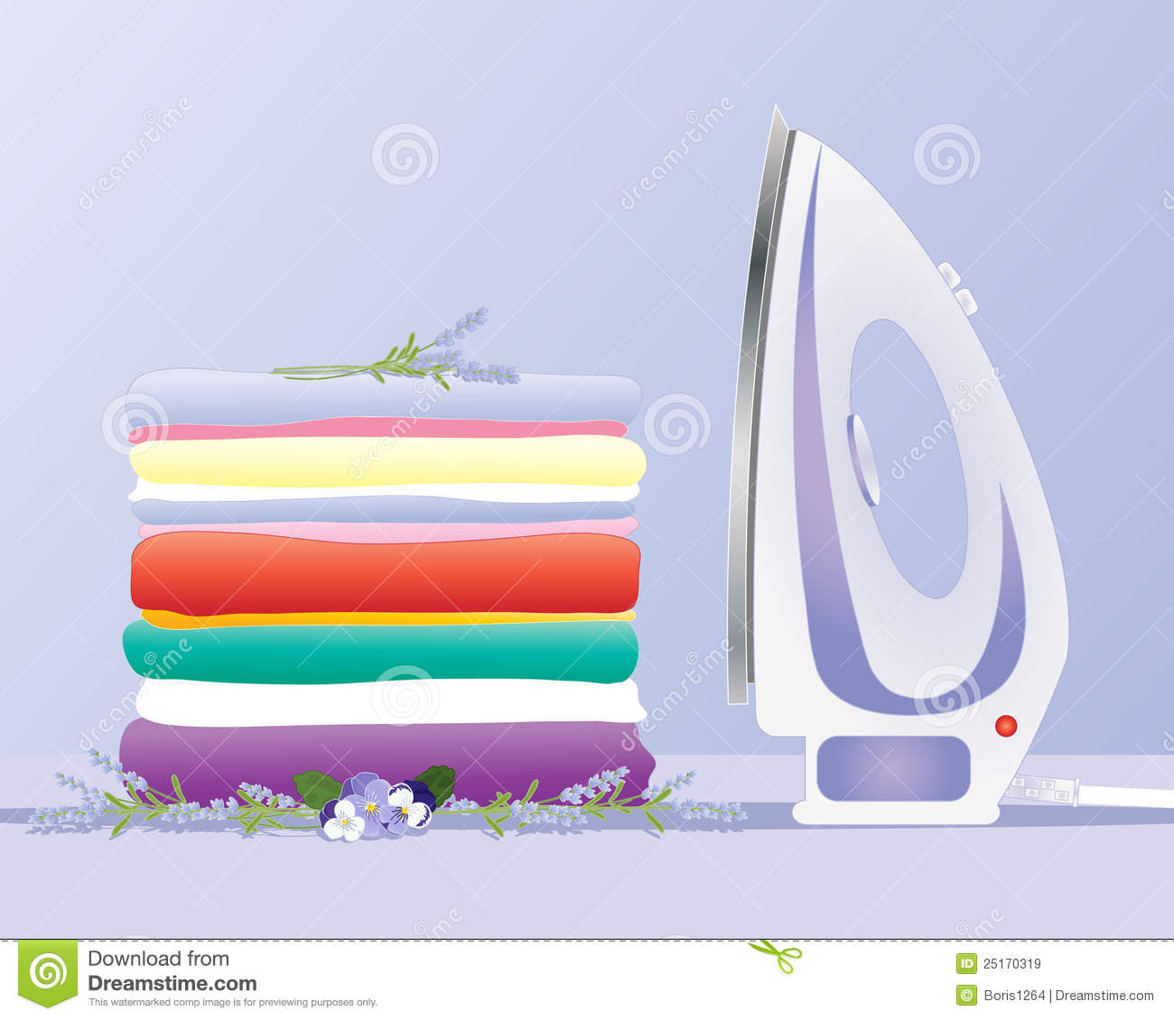 Ironing clothes royalty free stock images image 25170319 - How to unwrinkle your clothes with no iron ...