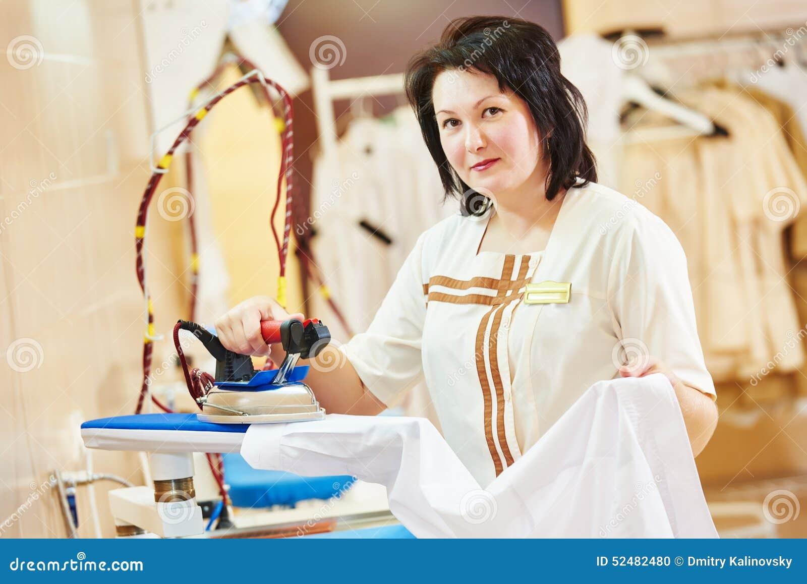 Ironing Service Stock Photo Image 52482480