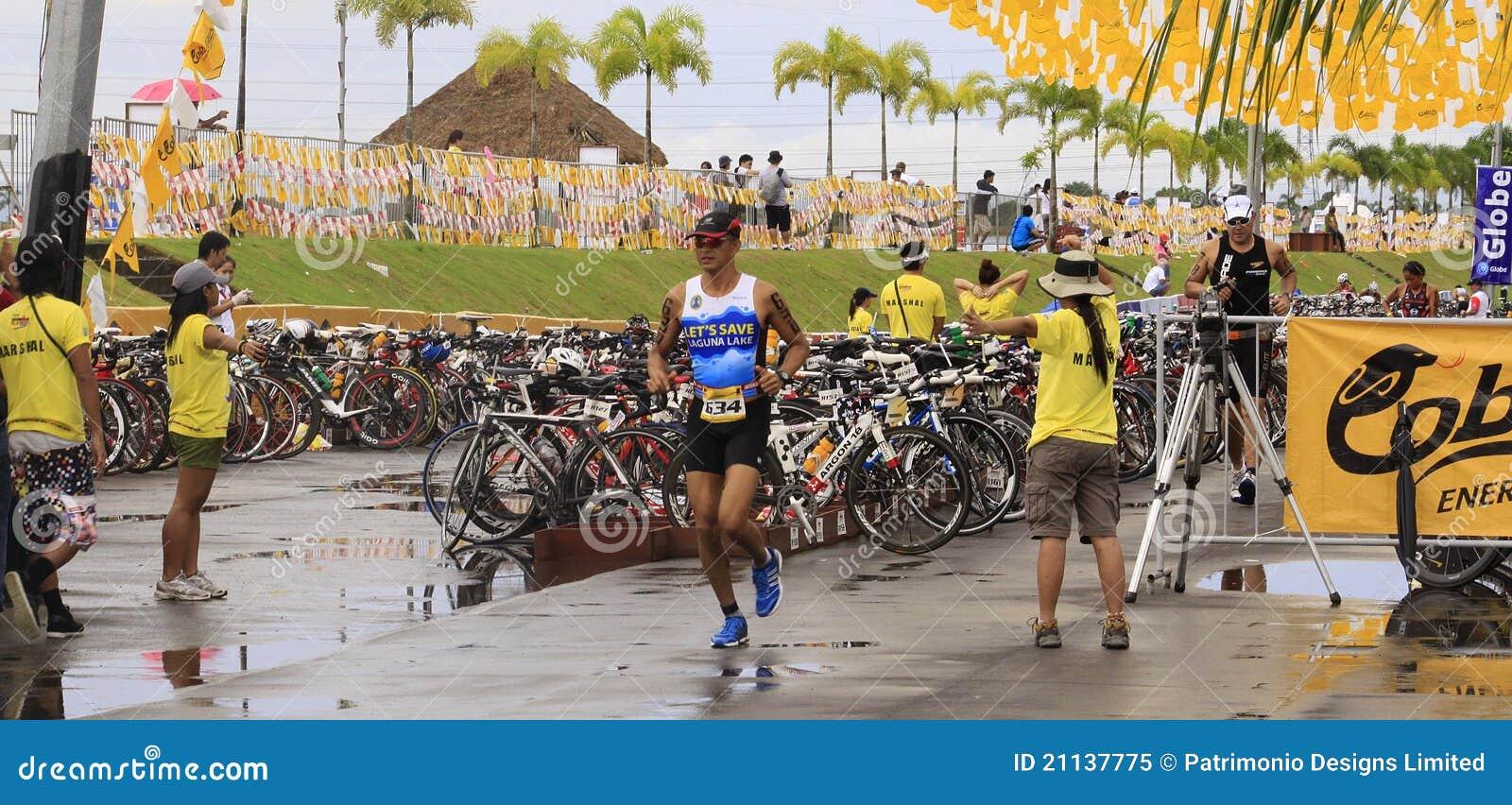 Ironman Philippines Marathon Run Race Finish Editorial